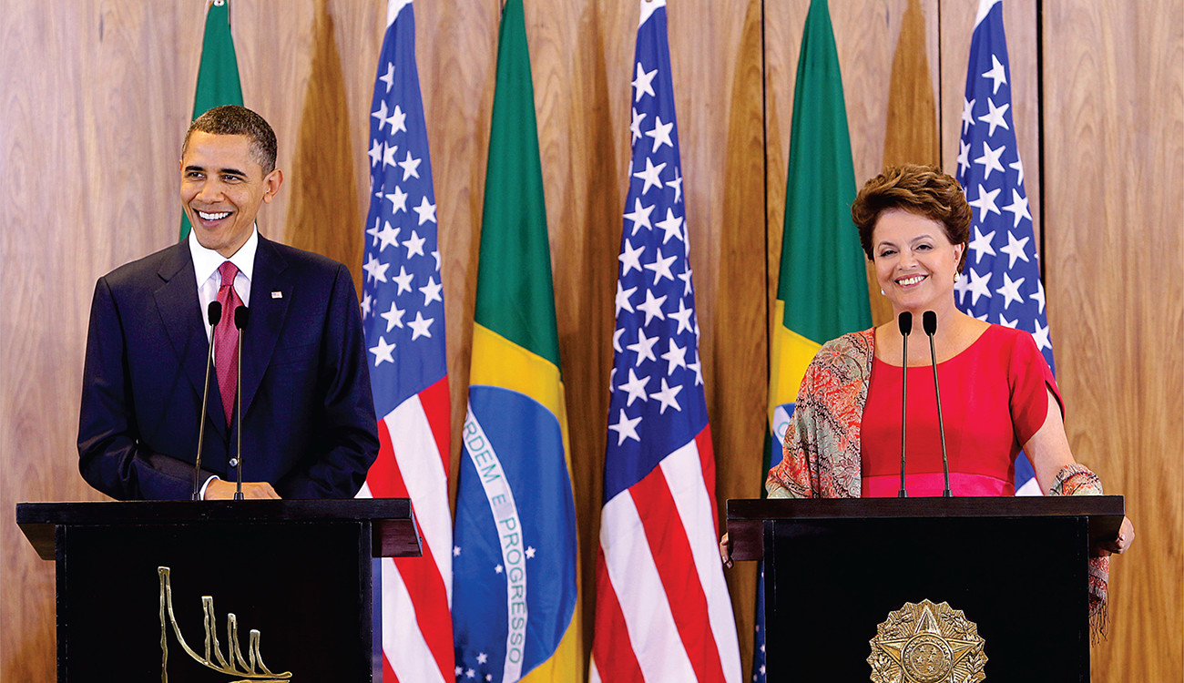 Visita do Presidente Barack Obama ao Brasil.